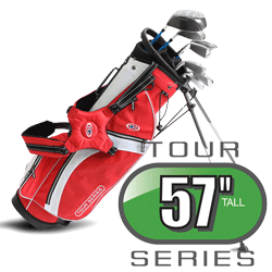 US Kids Golf Tour Series Schläger 7er Set Größe 57 RH TS57Set7G LH TSLi57Set7G