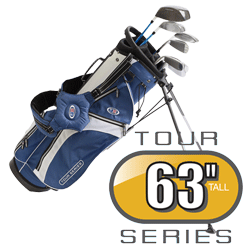 US Kids Golf Tour Series Schläger 7er Set Größe 63 RH TS63Set7G LH TSLi63Set7G