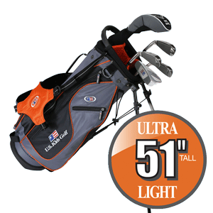 US Kids Golf Ultralight Series Schläger Set US51Set5/USLi51Set5