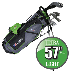 US Kids Golf-Set Ultralight Series 57 Kinder und Jugend Golf Schläger Set