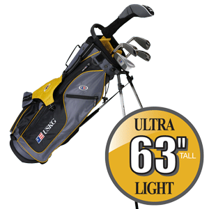 US Kids Golf Ultralight Series 63 Kinder und Jugend Golf Schläger Set